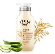 Укрепляющий и увлажняющий шампунь с экстрактом алоэ и овса Fresh Pop Pure aloe & oat Shampoo 500 мл